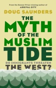 The Myth of the Muslim Tide – by Doug Saunders: The myth of the muslim tide is a timely, sober and exhaustively researched book. British-canadian globe and mail journalist Doug Saunders clearly and effectively debunks a number of irrational yet widely circulated demographic and historical claims by drawing on popular political literature, quantitative data and opinion polls. - Euro islam